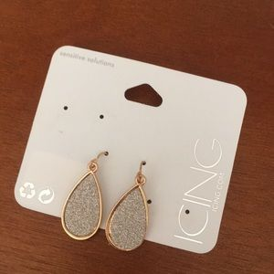 Icing Earrings, one pair from 3 pack.